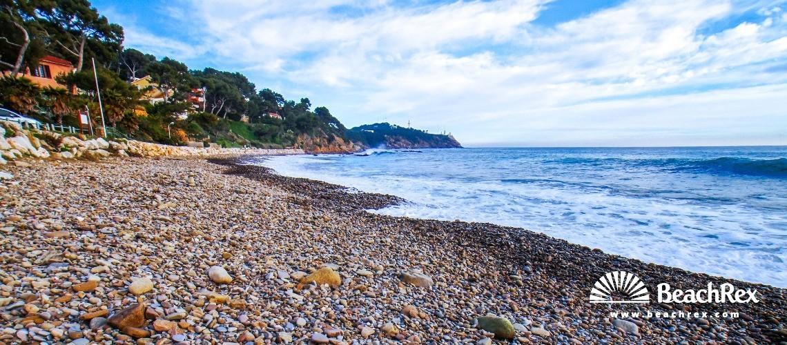 France - Var -  Saint-Mandrier-sur-Mer - Beach de la Coudoulière