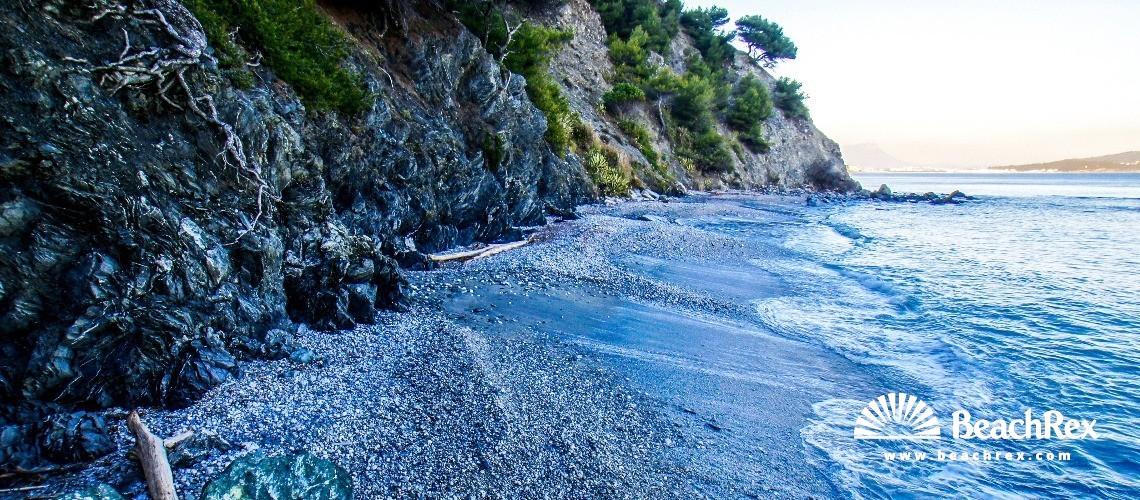France - Var -  La Seyne-sur-Mer - Beach Naturiste du Saint-Selon