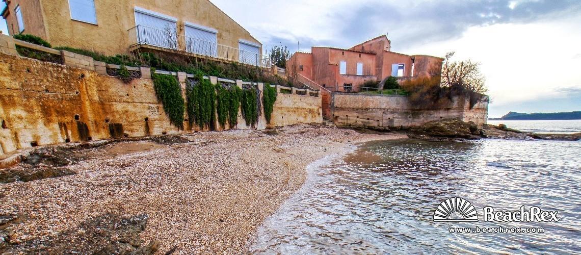 France - Var -  Six-Fours-les-Plages - Beach Pointe du Rayolet