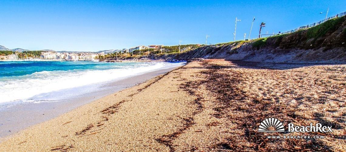 France - Var -  Six-Fours-les-Plages - Beach de la Coudoulière