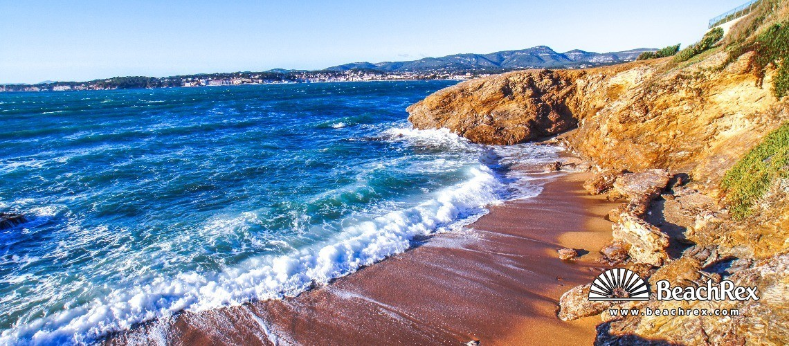France - Var -  Six-Fours-les-Plages - Beach Antoine Baptiste