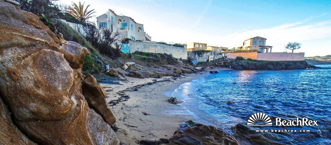 France - Var -  Six-Fours-les-Plages - Beach des Tamaris