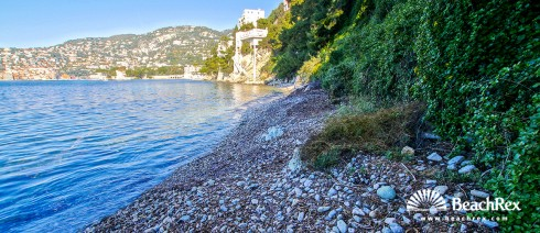 France - AlpesMaritimes -  Saint-Jean-Cap-Ferrat - Beach Grasseuil - Espalmador
