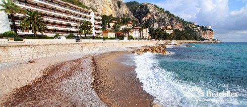 France - AlpesMaritimes -  Menton - Beach Hawai