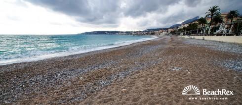 France - AlpesMaritimes -  Menton - Beach Soleil