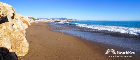 France - AlpesMaritimes -  Cagnes-sur-Mer - Beach de l'Hippodrome