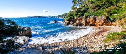 France - AlpesMaritimes -  Antibes - Beach des Milliardiers