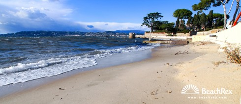 France - AlpesMaritimes -  Antibes - Beach des Ondes
