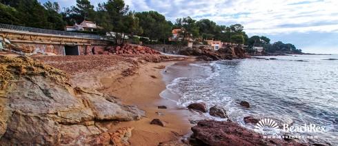 France - Var -  Saint-Raphaël - Beach Aiguebonne