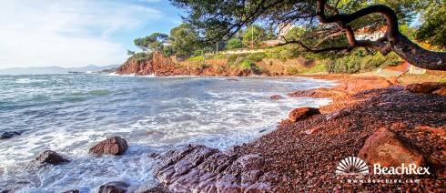 France - Var -  Saint-Raphaël - Beach de Santa Lucia
