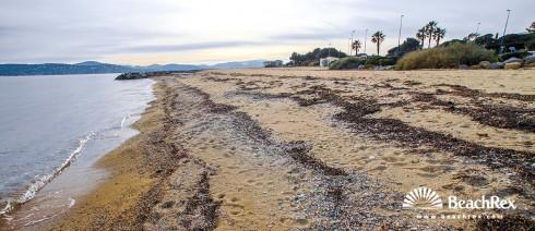 France - Var -  Grimaud - Beach Guerrevielle