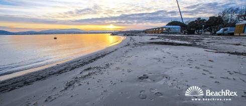France - Var -  Grimaud - Beach les Tamaris