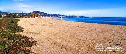 France - Var -  Grimaud - Beach Sud