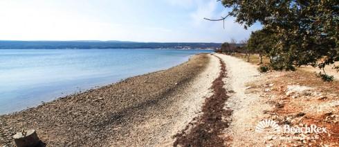 Croatia - Dalmatia  Zadar -  Crna Punta - Beach Kirnja