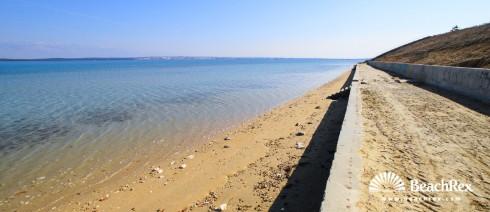 Croatia - Dalmatia  Zadar -  Nin - Beach Sabunike Mol