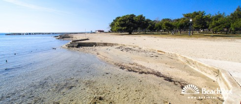 Croatia - Dalmatia  Zadar -  Privlaka - Beach Dalmacija