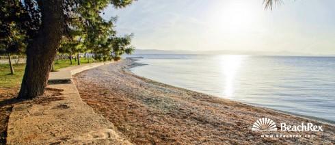 Kroatien - Dalmatien  Zadar -  Bibinje - Strand Lipauska