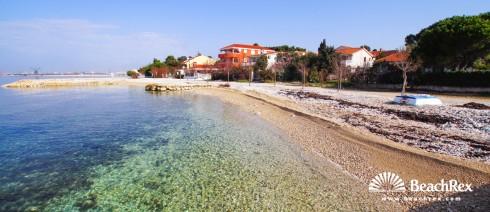Kroatien - Dalmatien  Zadar -  Bibinje - Strand Bibinje