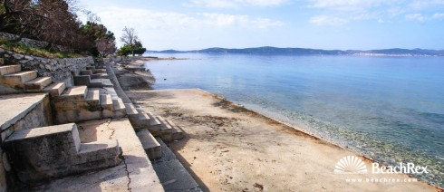 Kroatien - Dalmatien  Zadar -  Bibinje - Strand Punta Rozica