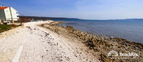 Croatia - Dalmatia  Zadar -  Sukošan - Beach Soline
