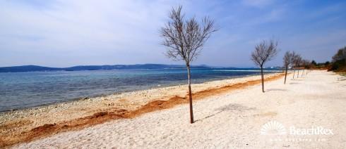 Croatia - Dalmatia  Zadar -  Biograd na Moru - Beach Bošana