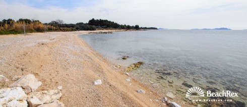 Croatia - Dalmatia  Zadar -  Biograd na Moru - Beach Kumenat