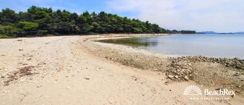 Croatia - Dalmatia  Zadar -  Biograd na Moru - Beach Lumbrak