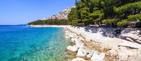 Croatia - Dalmatia  Zadar -  Drage - Beach Dolaške Drage