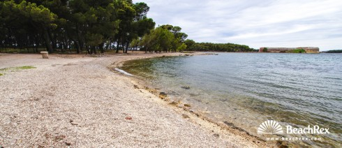 Croatia - Dalmatia  Šibenik -  Šibenik - Beach Sv. Nikola