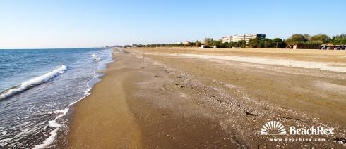 Italy - Veneto - island Lido -  Lido - Beach San Nicolo