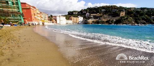 Italy - Liguria -  Sestri Levante - Beach Baia del Silenzio
