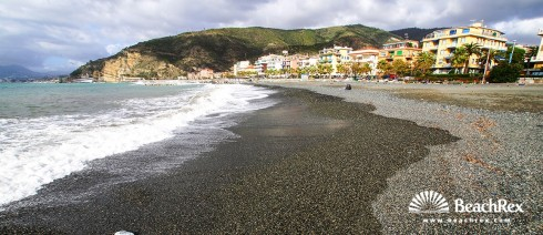 Italy - Liguria -  Sestri Levante - Beach Sestri Levante