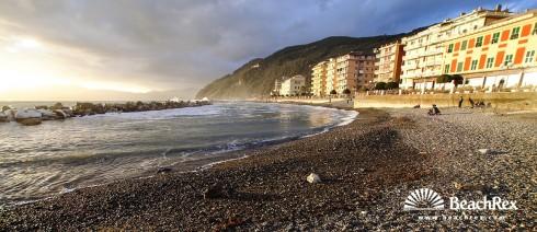 Italy - Liguria -  Chiavari - Beach Valparaiso