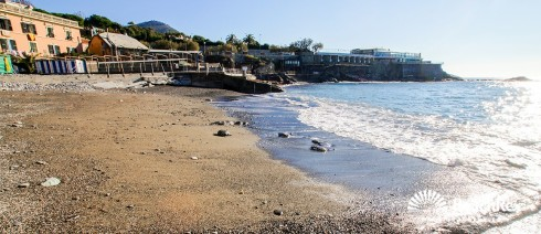 Italy - Liguria -  Genova - Beach Quartara