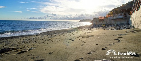 Italy - Liguria -  Arrenzano - Beach La Vesima