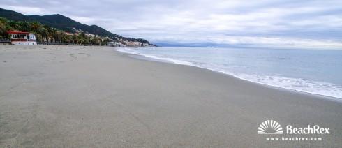 Italy - Liguria -  Varazze - Beach Viale Paolo Cappa