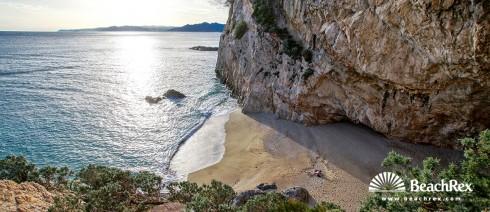 Italy - Liguria -  Varigotti - Beach Punta Crena