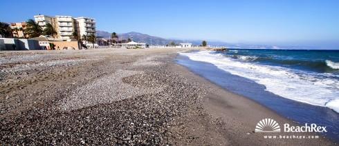 Italy - Liguria -  Albenga - Beach Doria