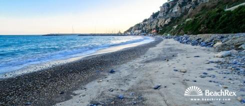 Italy - Liguria -  Alassio - Beach Luca Ferrari