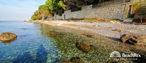 Italy - FriuliVenezia Giulia -  Aurisina - Beach Le Ginestre