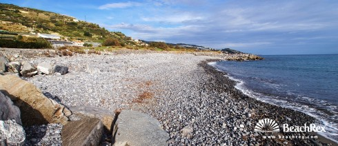 Italy - Liguria -  Arma di Taggia - Beach Prai