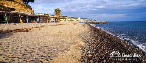 Italy - Liguria -  Bussana - Beach Bussana