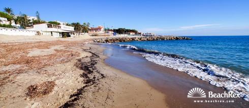 Italy - Liguria -  Sanremo - Beach Capo Nero