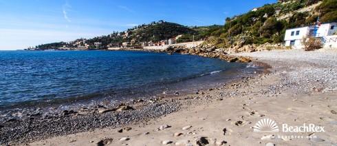 Italija - Liguria -  Bordighera - Plaža Portico