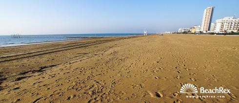 Italy - Veneto -  Lido di Jesolo - Beach Lido Centro