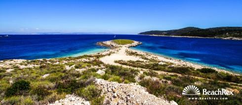 Croatia - Dalmatia  Split - Island Vis -  Rogačić - Beach Komarča
