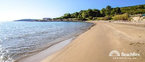 Croatia - Dalmatia  Split - Island Vis -  Milna - Beach Zaglav