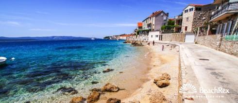 Croatia - Dalmatia  Split - Island Brač -  Bol - Beach Račić