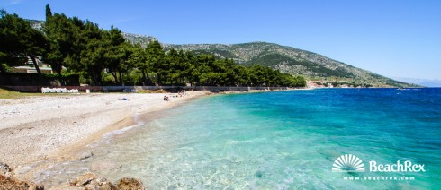 Croatia - Dalmatia  Split - Island Brač -  Bol - Beach Ruža