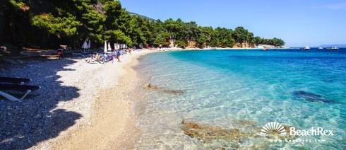 Croatia - Dalmatia  Split - Island Brač -  Bol - Beach Potočine
